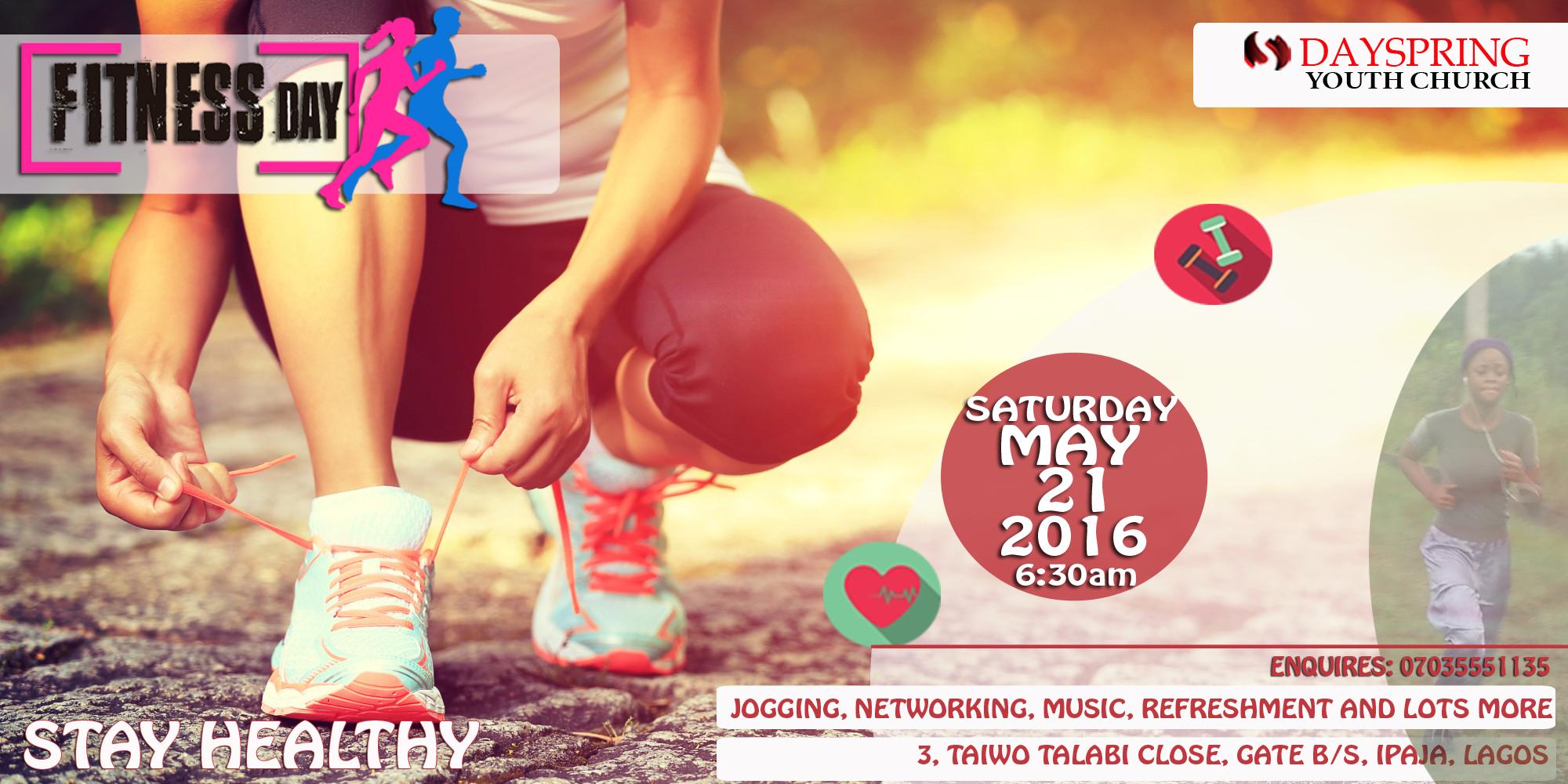 Dayspring Youth Church Fitness Program