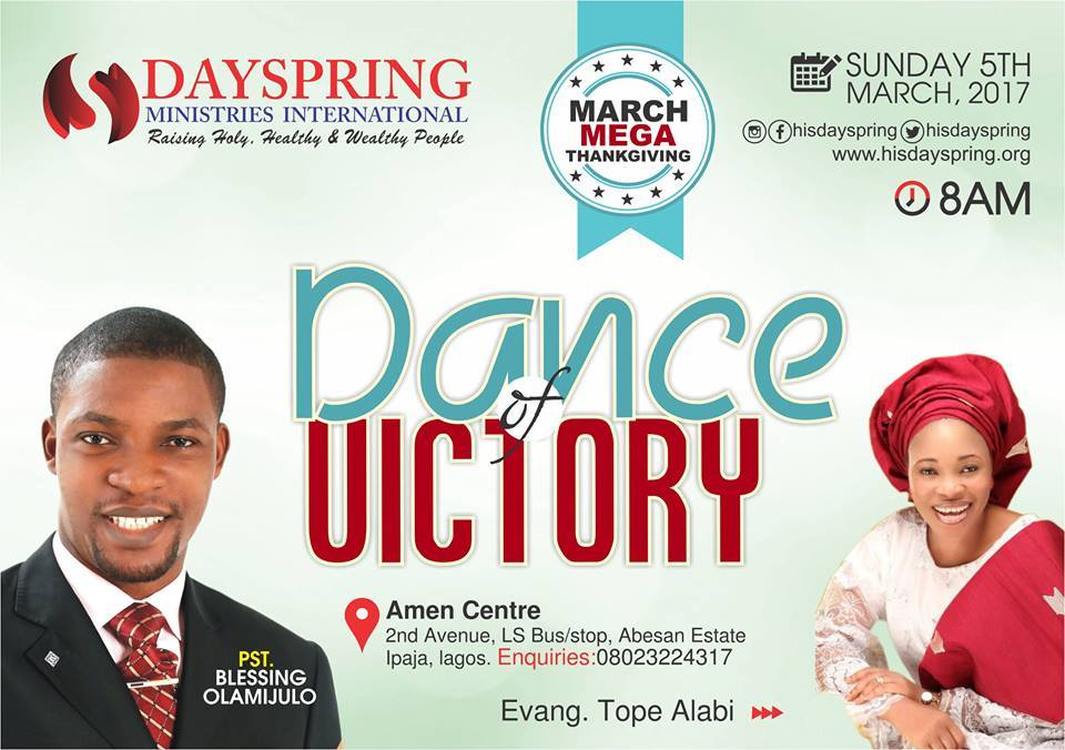 March Mega Thanksgiving - Dance of Victory