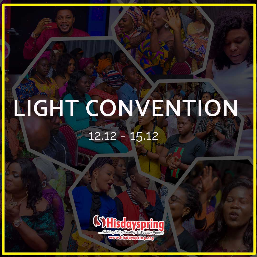 Light Convention 2019
